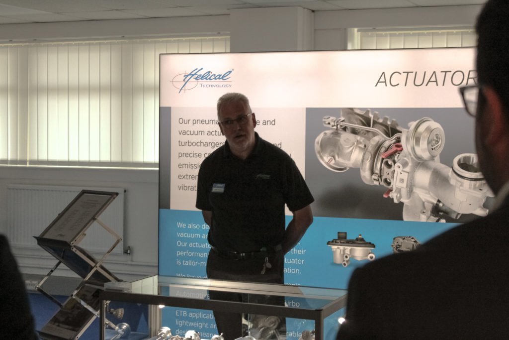 Chris Salmon - Head of Actuators Department