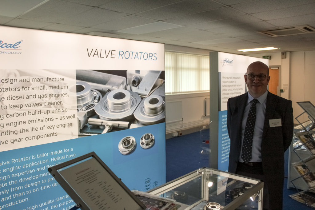 Helical TIan Edwards, Head of Valve Rotators Department